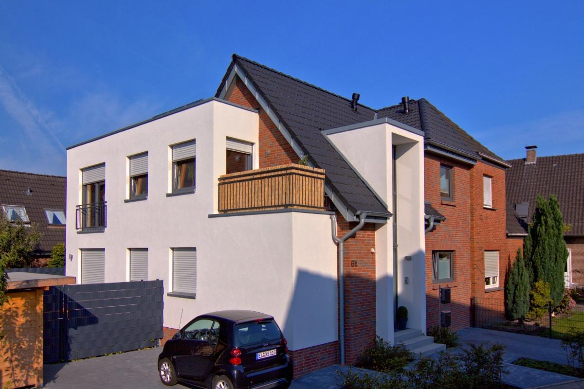 Doppelhaushälfte Sanieren abbruch und neubau einer doppelhaus-hälfte - architektin marlies