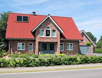 Wohnhaus in einer Baulücke