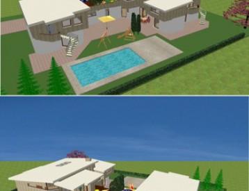 Visualisierung Bauvorhaben